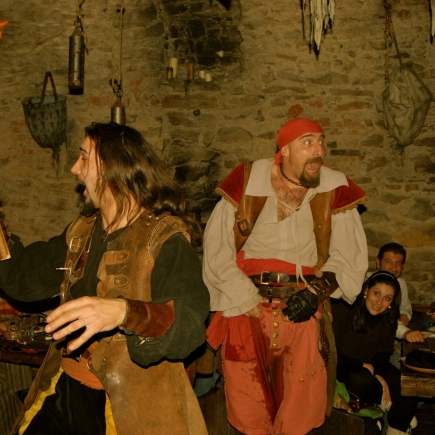 Diner Spectacle Medieval
